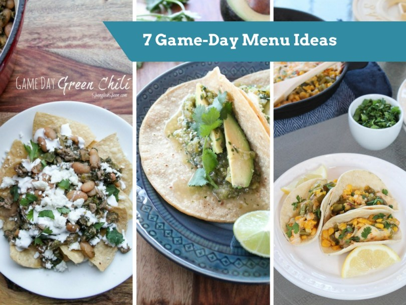 7 Game-Day Menu Ideas