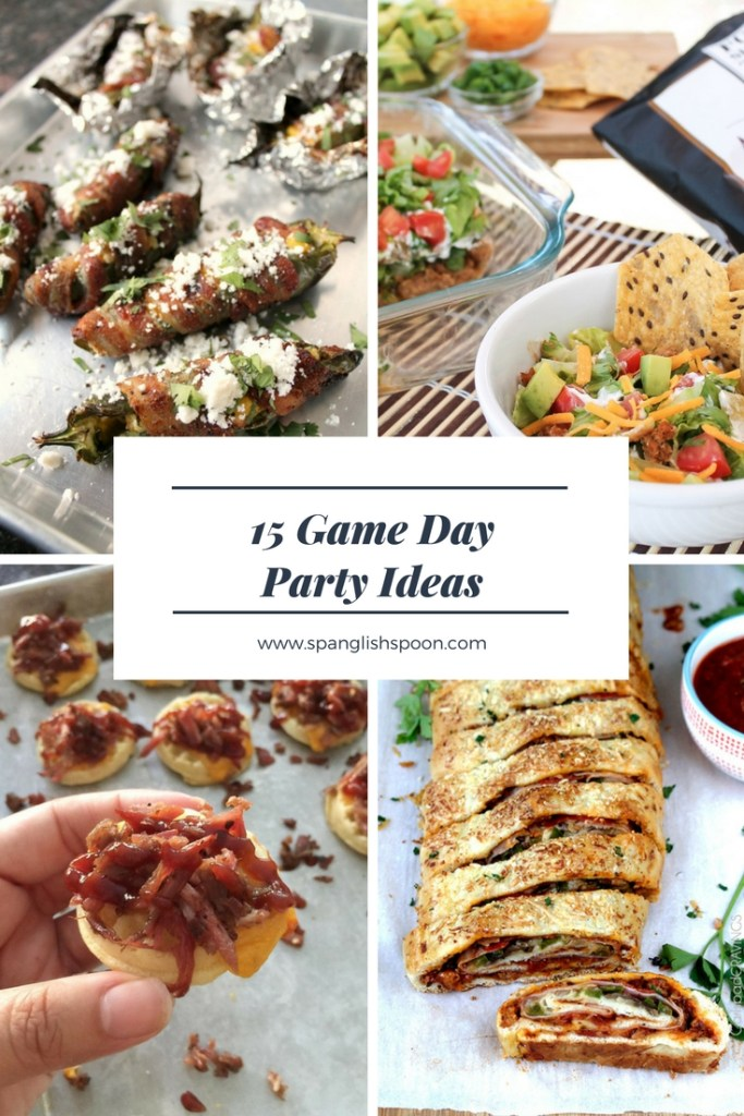 15 Game Day Party Ideas