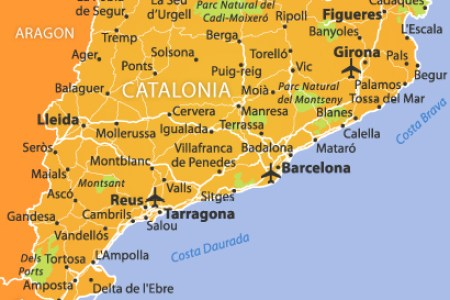 catalonia tourist map » ..:: Edi Maps ::.. | Full HD Maps