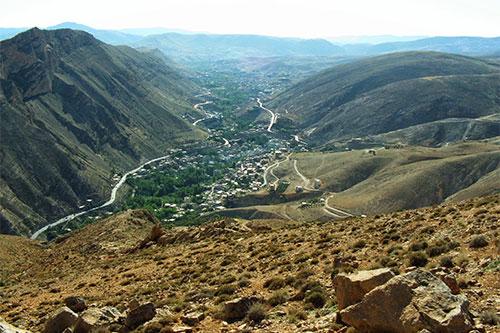 el valle del río Barada