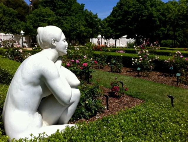 rincones secretos de barcelona rosedal parque cervantes
