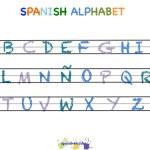 Spanish Alphabet in Color
