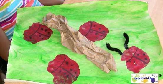 Creating ladybug habitat
