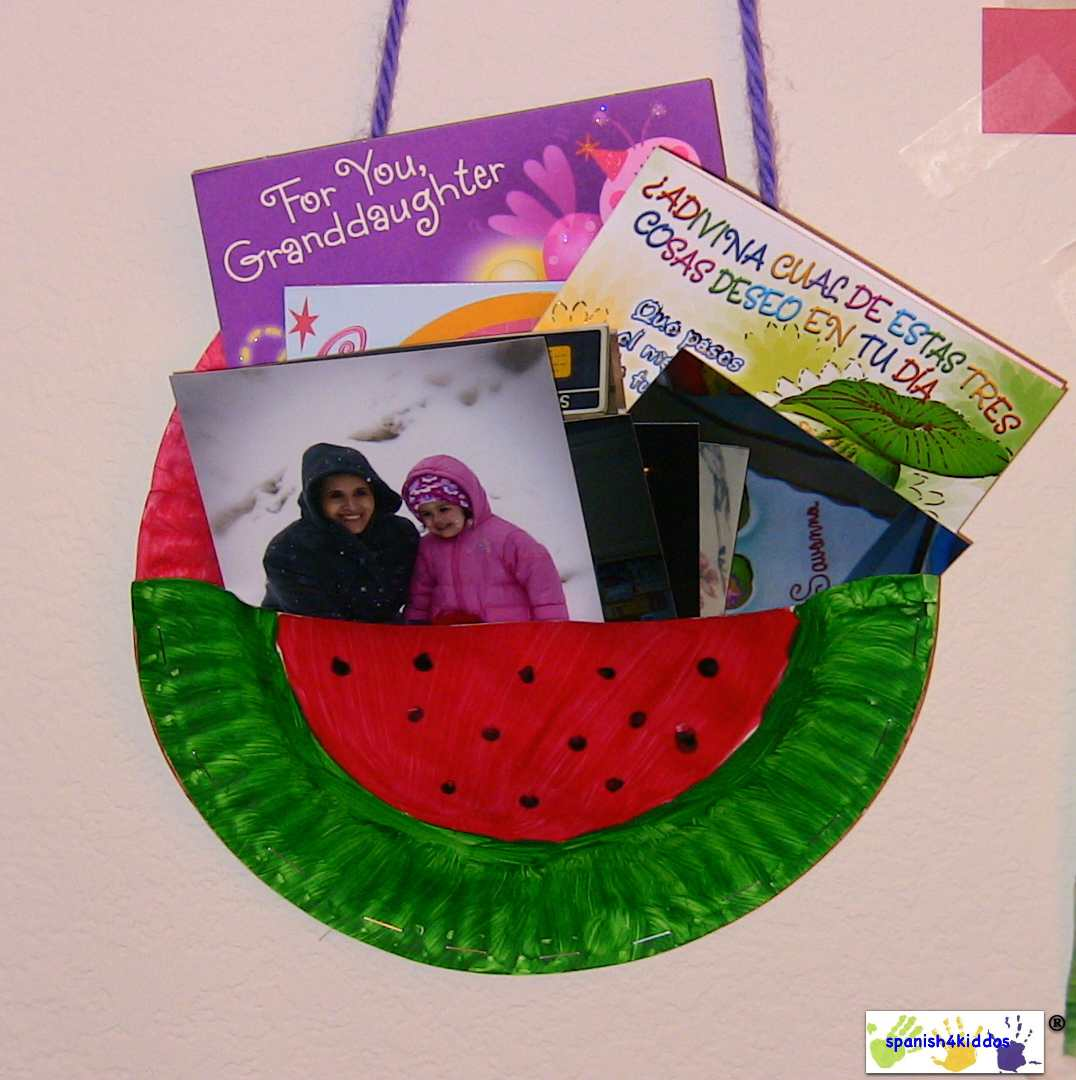 How To Make A Fun Summer Craft For Kids A Watermelon