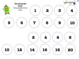 counting Spanish numbers