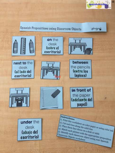 Instructions included on how to set up memory game