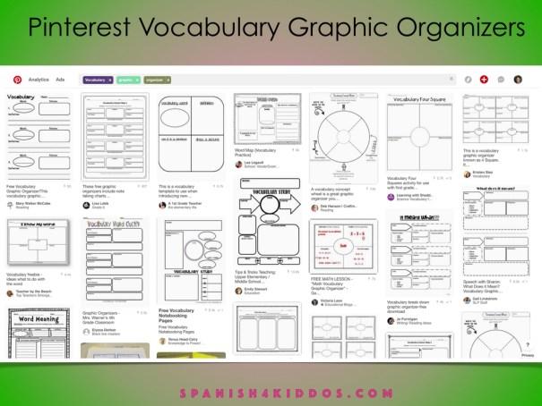 bilingual graphic organizers