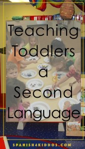 teaching toddles a second language
