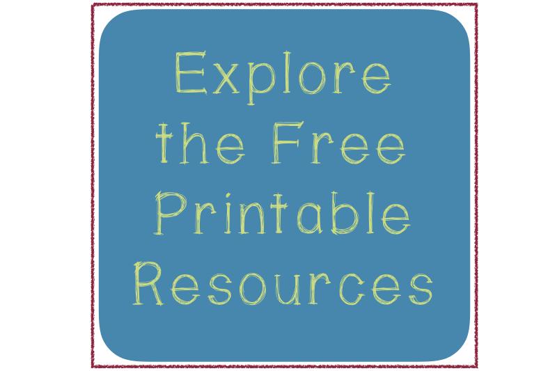 free Spanish and English printables