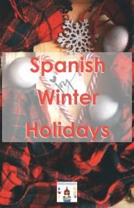 Spanish winter holidays