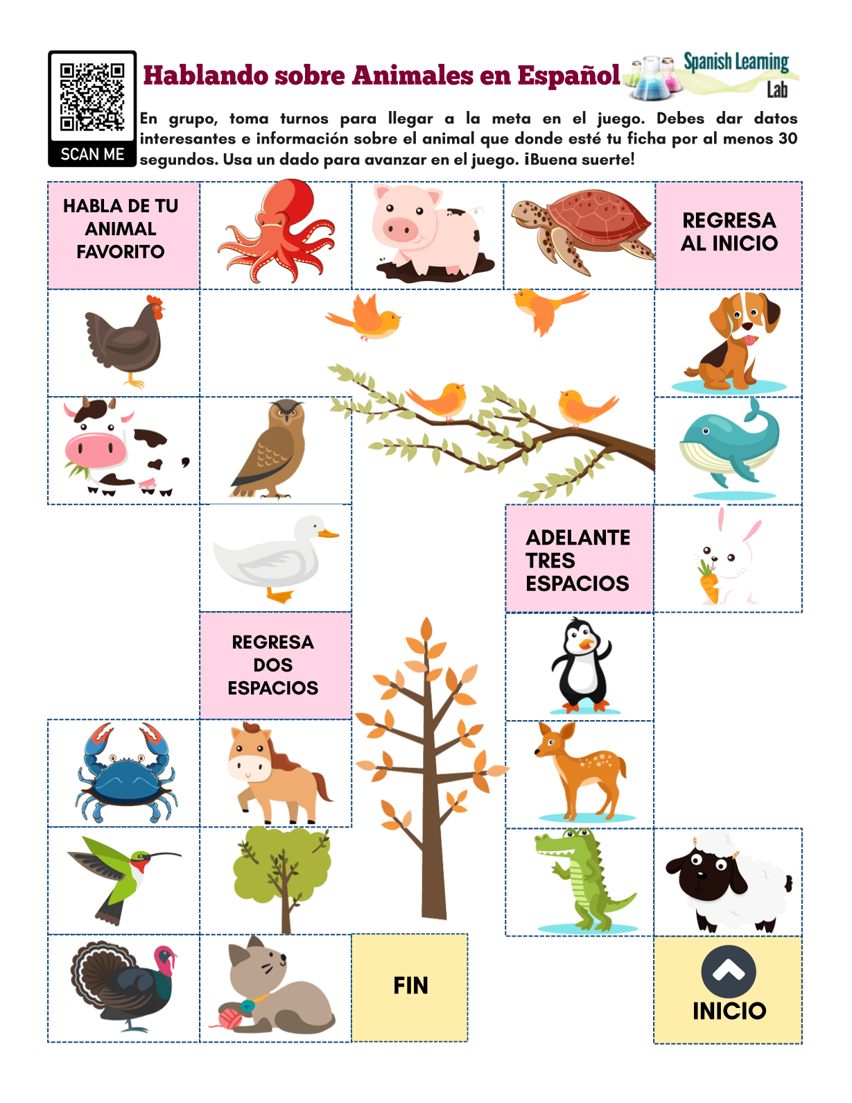 Animal Facts In Spanish