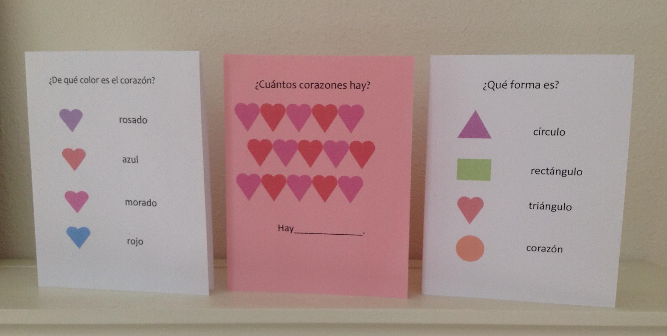Spanish Valentine Cards To Print