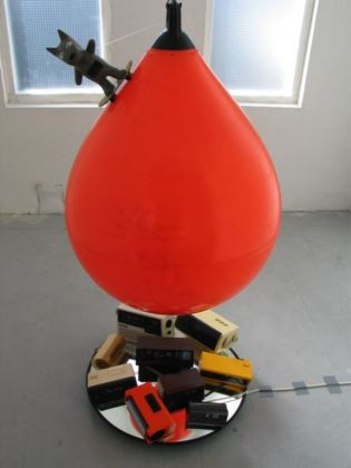 Installatie liftkoker opendag spanjaardshof 2008