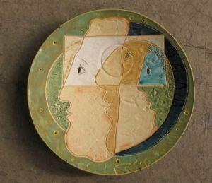 Geglazuurde witte klei, 2008