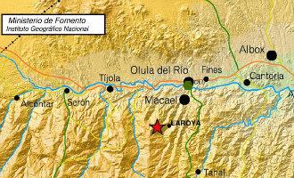 Aardbeving Met Een Kracht Van 3,2 Op Richter Schaal Gemeten In Almería