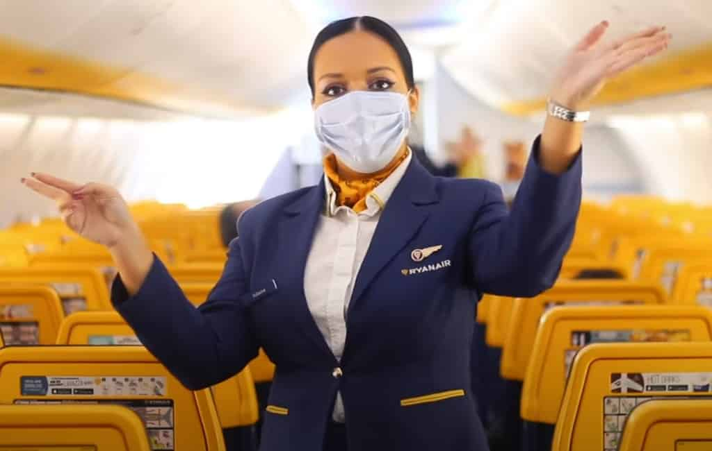 Nieuwe binnenlandse vluchten van Ryanair in Spanje