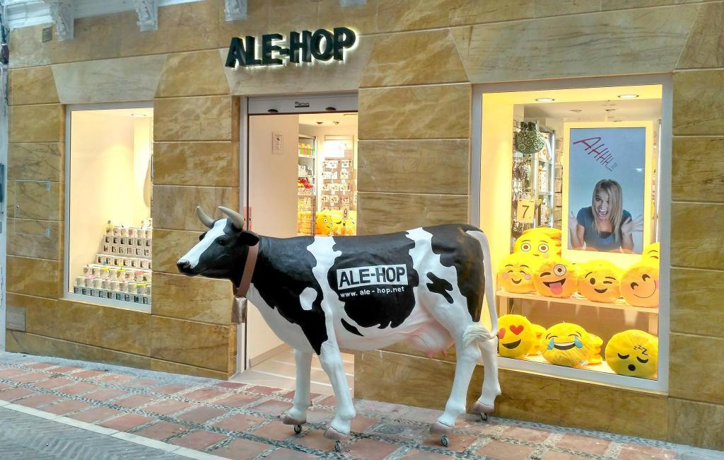 De Ale-Hop winkels in Spanje