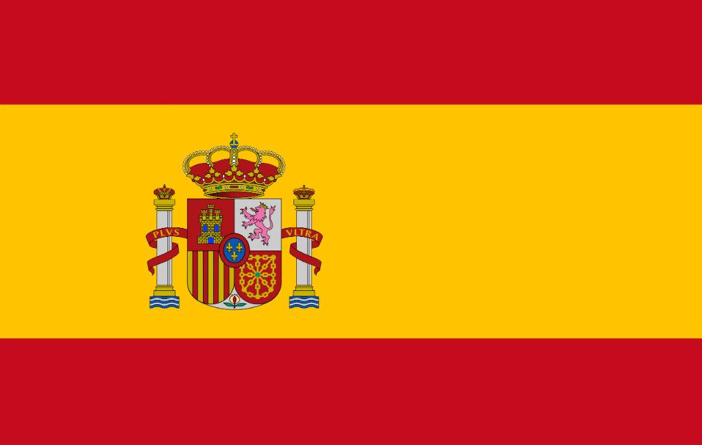 De vlag van Spanje
