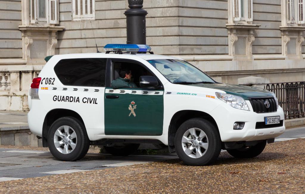 De politie in Spanje