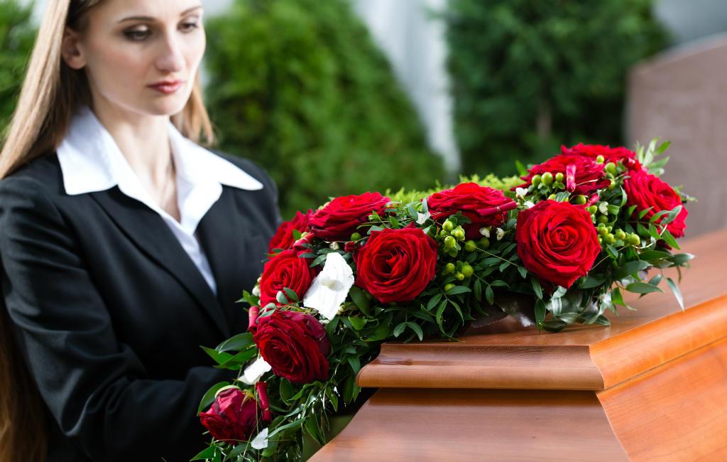 Begrafenis in Spanje