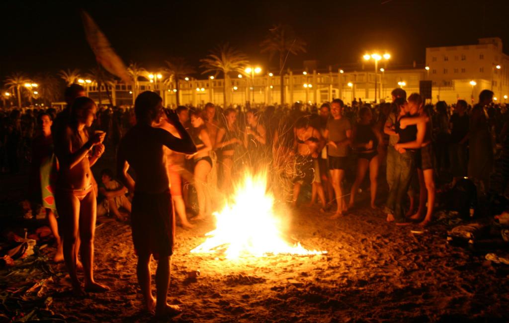 24 Juni: San Juan Of Midzomernacht In Spanje