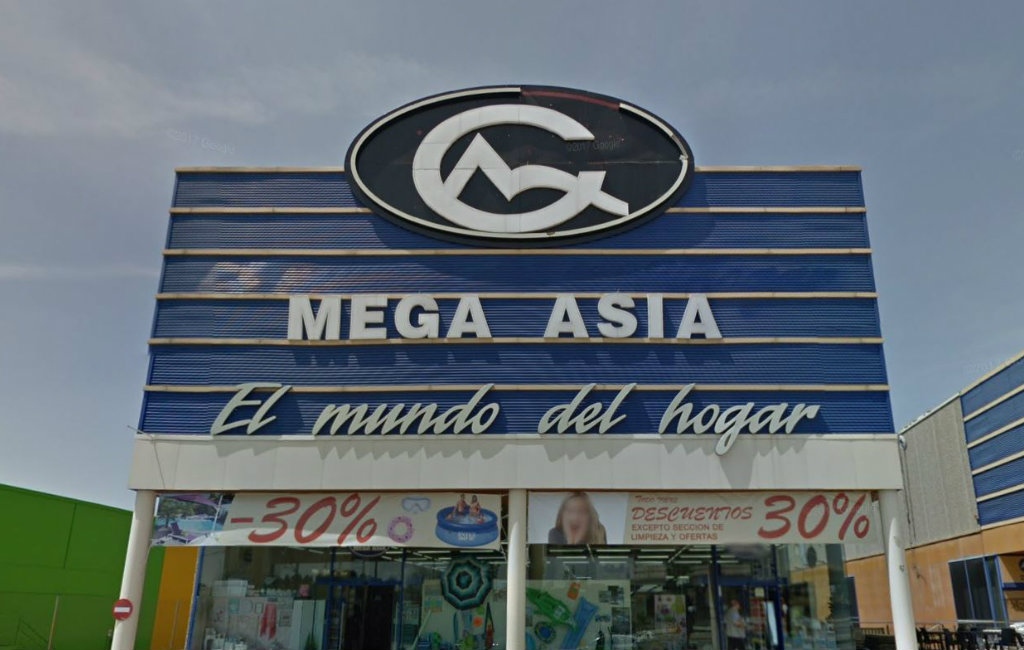 Chinese winkels in Spanje