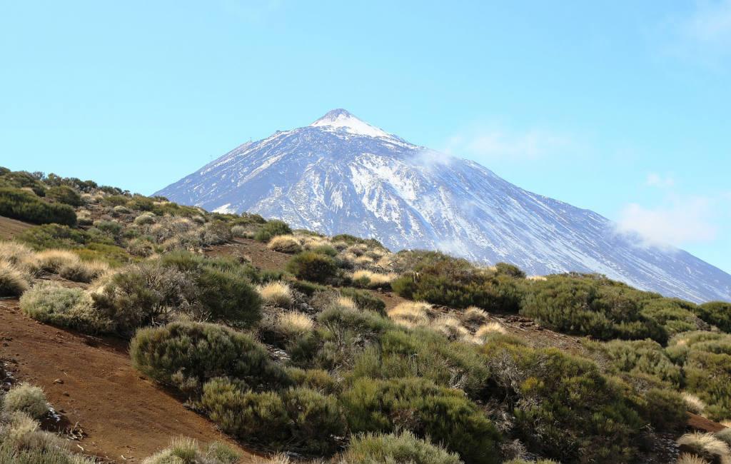 Vulkanen in Spanje