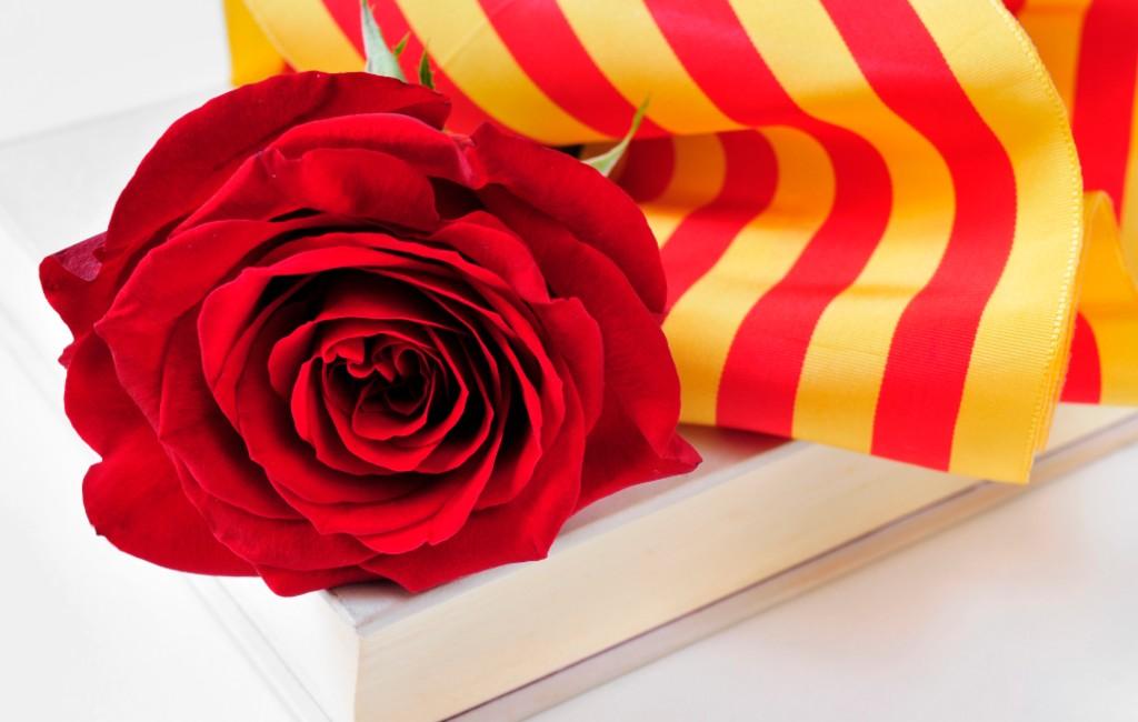 Sant Jordi in Catalonië