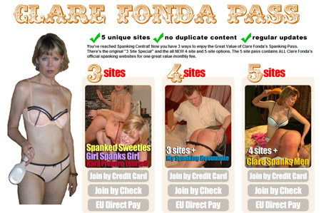 Best Value Spankings - Clare Fonda Pass