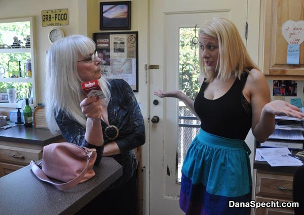 Sarah's Strict Mom, Dana Specht, finds cigarettes
