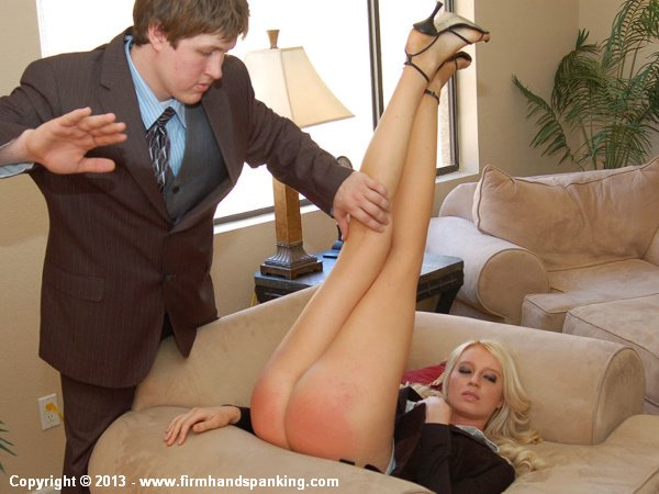 Legs high above her head, Adrienne Black's bare bottom is spanked 167 times