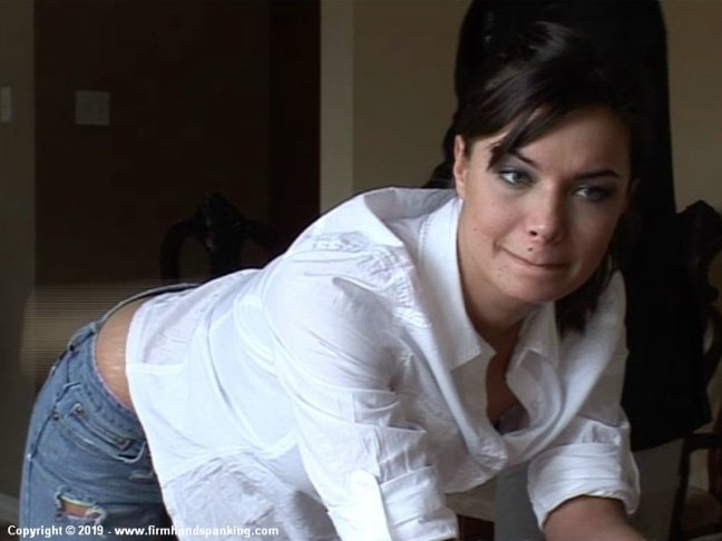 Ashley Thomas's Hard Paddling Reactions at Firm Hand Spanking
