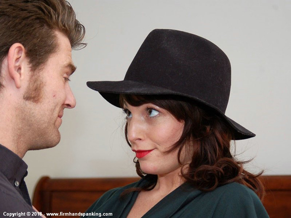 Katya Nostrovia is in trouble with sugar daddy John Friday at Firm hand Spanking
