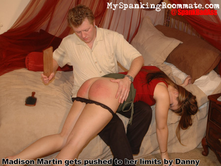 Madison Martin gets Pushed to her Limits