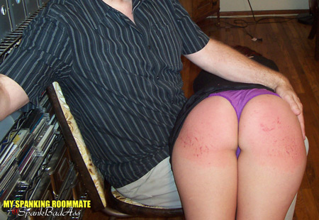 Nothing can stop Kailee from getting a very hard spanking this time
