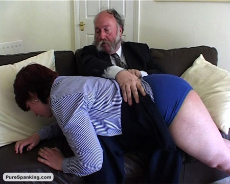 Chubby Girl gets a Spanking