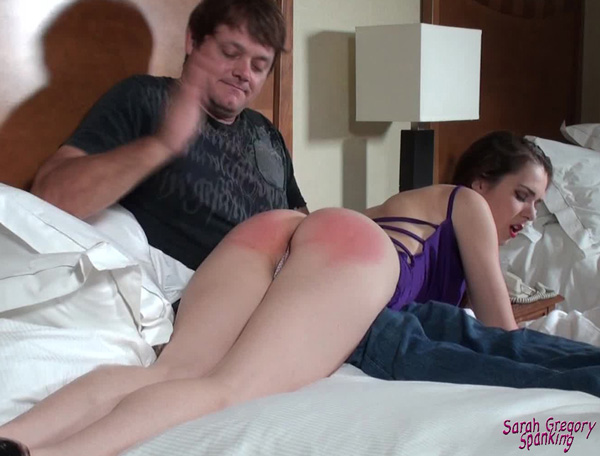 Isobel Wren gets a night of hard spanking and flogging in 50 Shades of Spanking