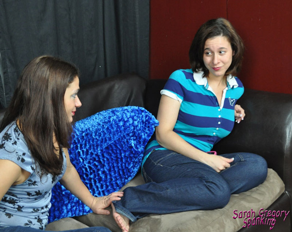 Ten Amorette asks Sarah to fulfill her fantasy of being spanked by by Sarah's mom