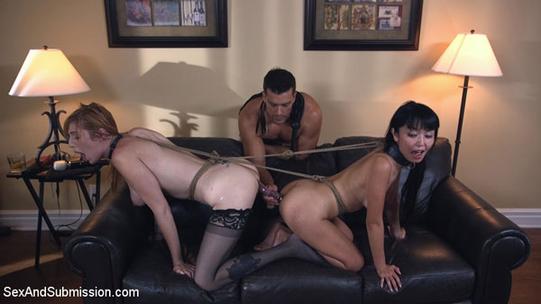 Lauren Phillips and Marica Hase get dominated together by Ramon