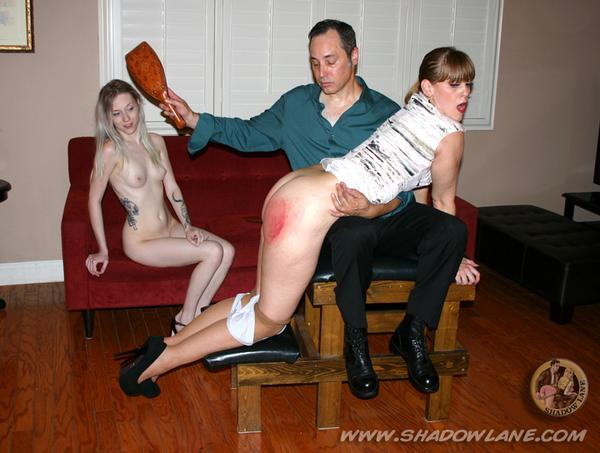 The Spanking Girl with Nikki Rouge and Violet October