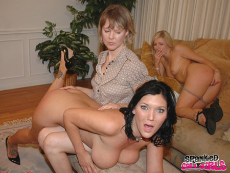 Claire Dames and Kylee Reese on Spanked Callgirls