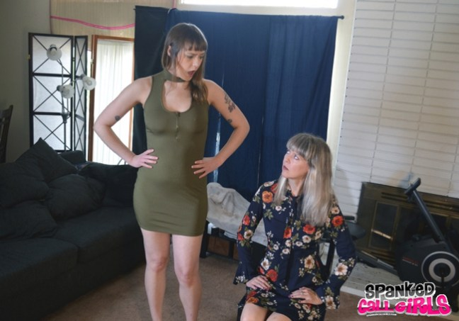 Sailor Luna is in trouble with clare Fonda at Spanked Callgirls