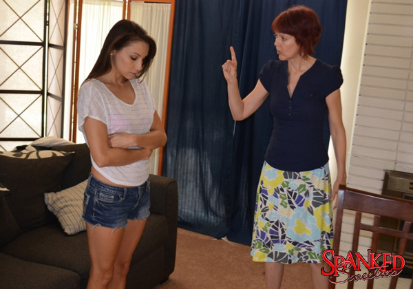 Celeste Star is told off by her mom, played by Clare Fonda