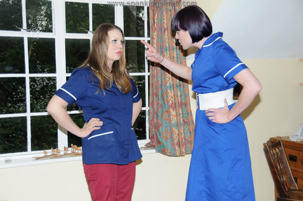 Nurse Molly Malone accuses Aleesha Fox of stealing the pills from work