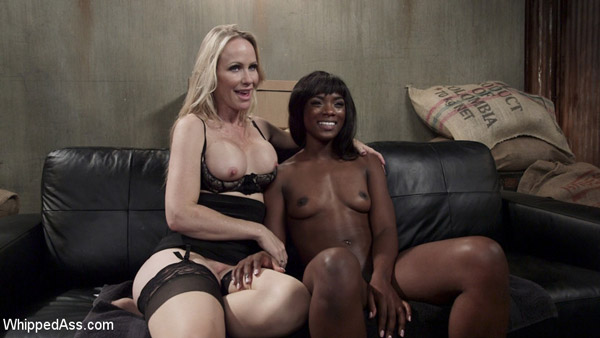 Simone Sonay and Ana Foxxx at Whipped Ass