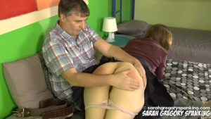Linny Lace Spanked by Dad
