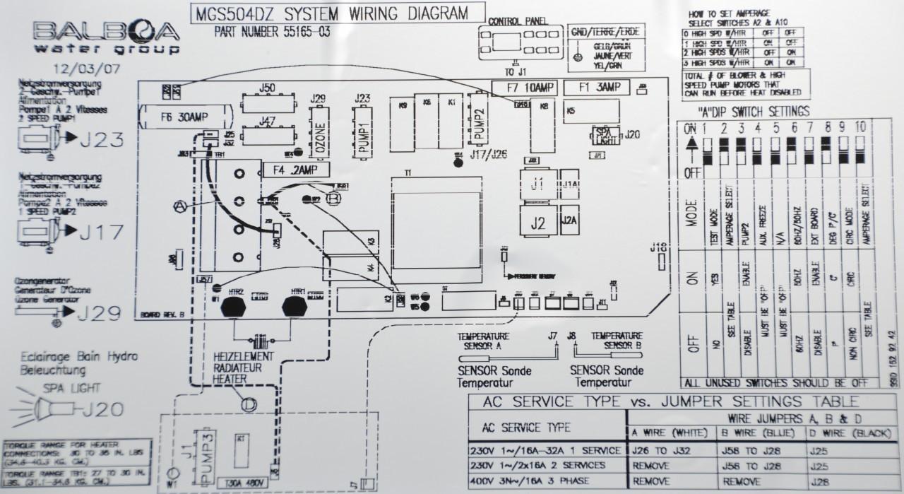 Sundance Hot Tub Wiring Diagram - Somurich.com
