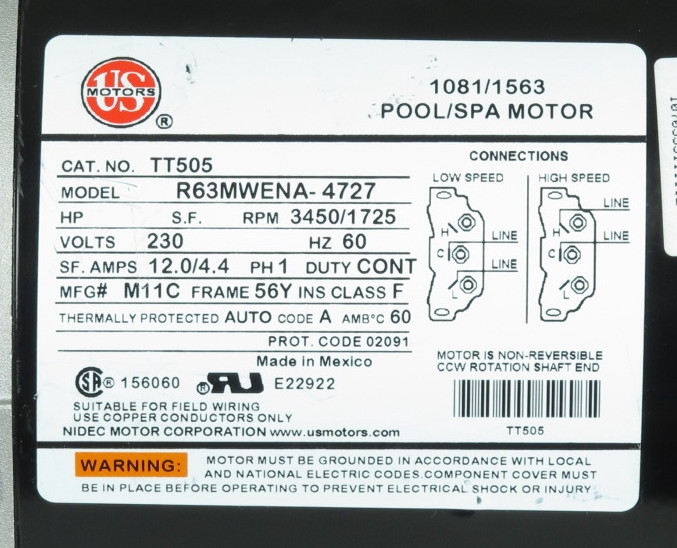 Ao Smith Replacement Parts Aosmithmotorschematic By