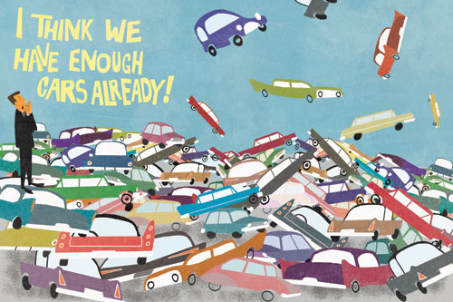 We Have Enough Cars Already (c) Max Dalton