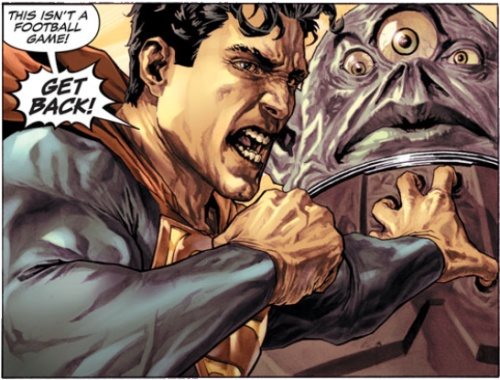 Superman in Wednesday Comics